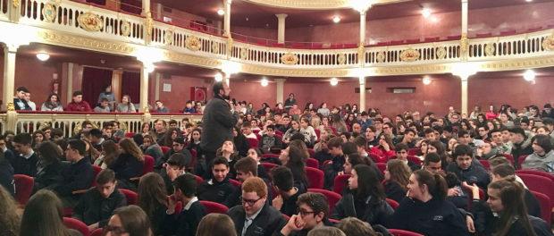 Més set-cents alumnes de secundària de Tarragona i Reus participen en la setmana del cinema espiritual